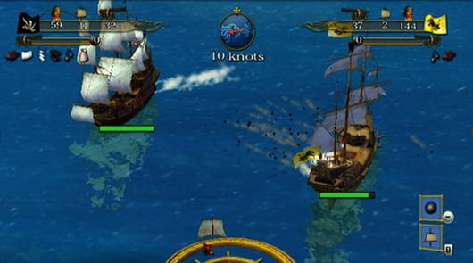 Sid Meier's Pirates! for Wii reaches port October 5!