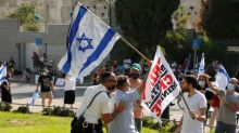 Israelis protest bill to stifle protests during coronavirus lockdown