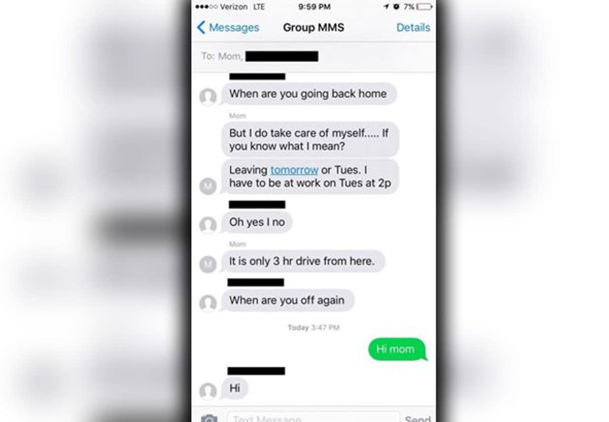Peinlich! Mutter fügt Tochter versehentlich zu Sex-Chat hinzu