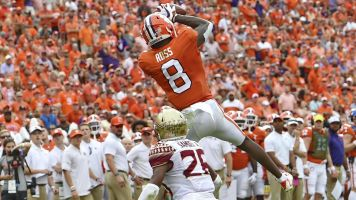 Clemson WR Ross to miss season with neck injury