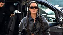 Kim Kardashian returns to the White House in custom Dior trouser suit