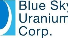 Blue Sky Uranium CEO and VP Exploration to be Featured on StreetSmart Live! Webcast