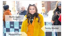 Look des Tages: Ciara Riley Wilson lässig im Wildleder-Kleid