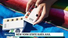Juul Sued by New York for Targeting Teens in Ads