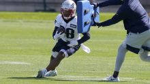 James White returns to Patriots for first time since father's death