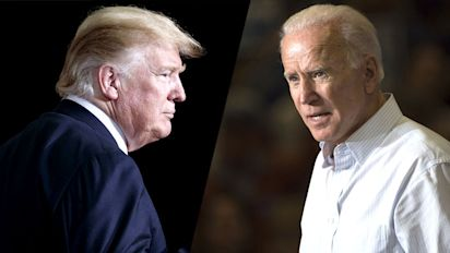 Trump and Biden rally at dueling events in Nevada