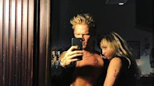 Miley Cyrus shocks fans as she gropes new boyfriend Cody Simpson in racy Instagram selfie