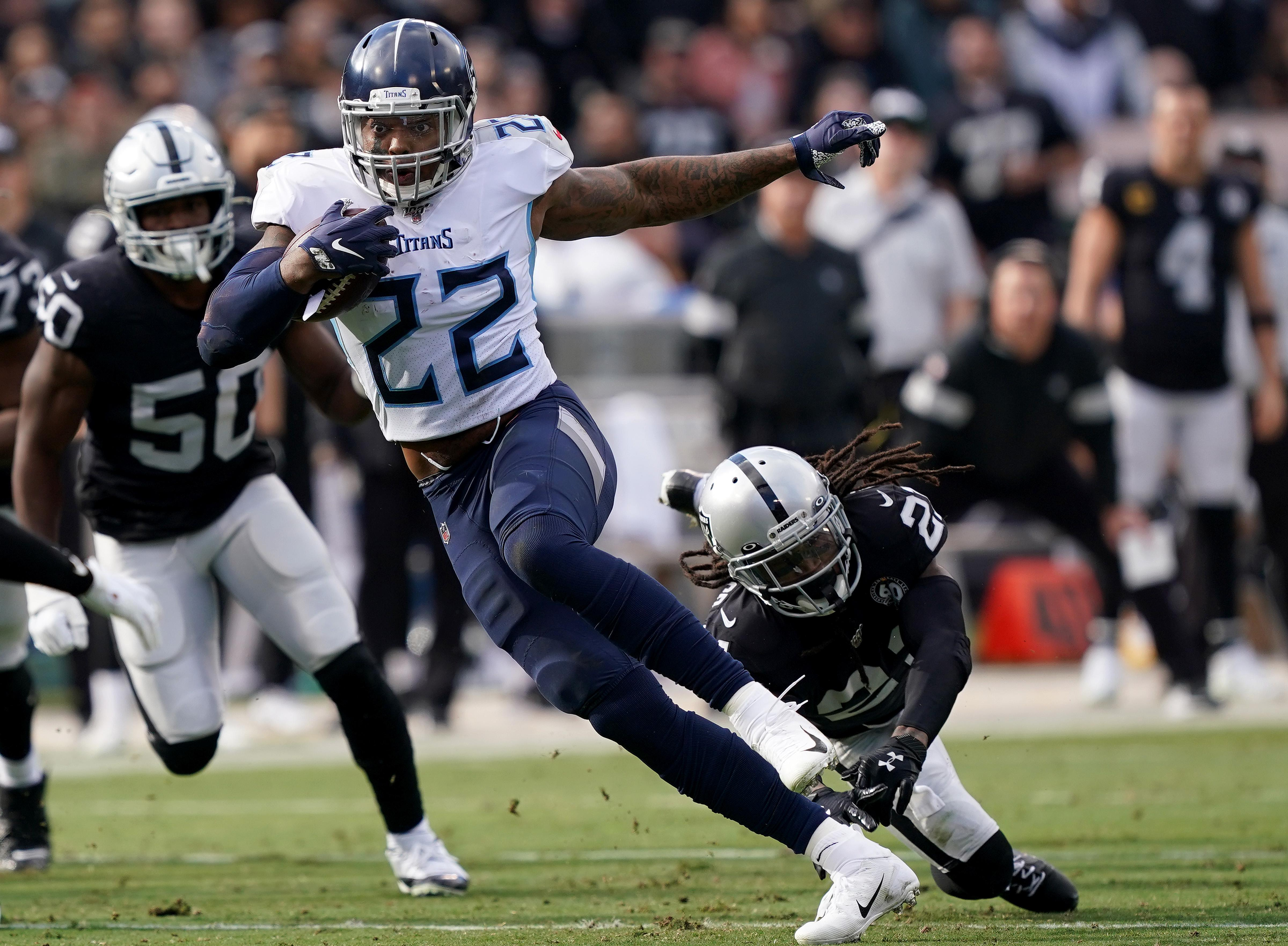 Titans RB Derrick Henry expected to sit vs. Saints due to ...Derrick Henry