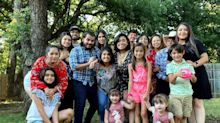 After months of following COVID-19 guidelines, a Texas family 'let their guard down' for a day. All 12 of them got sick.
