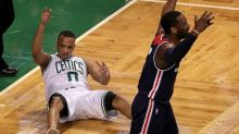 Avery Bradley threw flames, and the Celtics torched the Wizards in Game 5