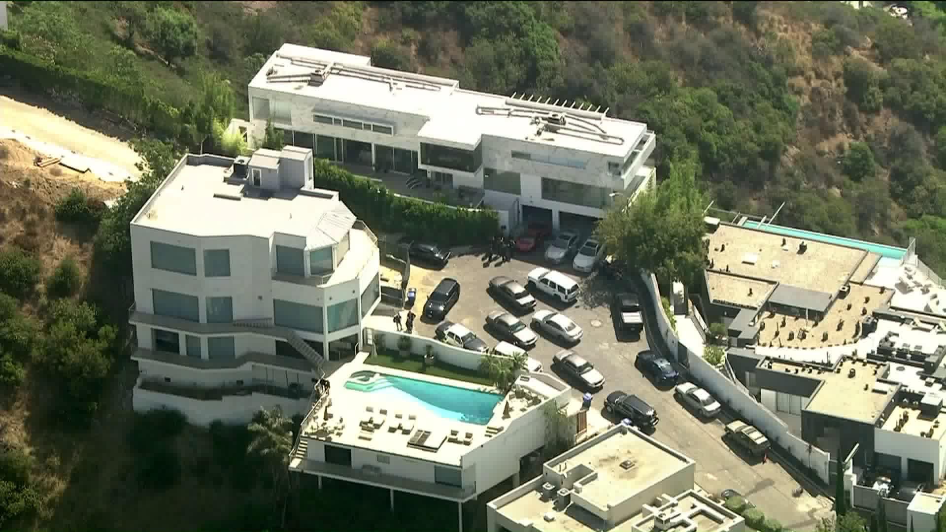 Image result for rapper yg house Hollywood Hills
