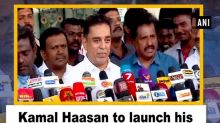 Kamal Haasan to launch his political party on Wednesday