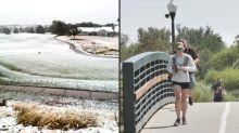 Del traje de baño al abrigo: caen 30 °C en Colorado de un día para otro