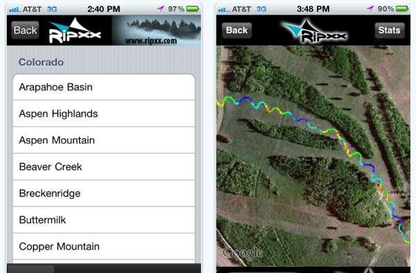 Ripxx ski app for iPhone great for athletes, useless for Epyx Winter Games