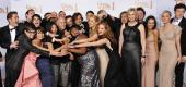 "The cast of ""Glee."" (Getty Images)"