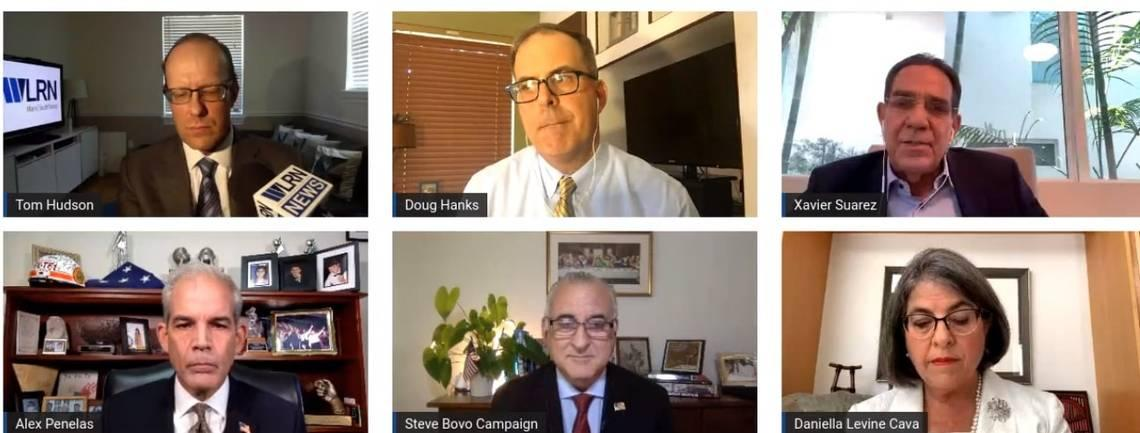 Candidates for Miami-Dade mayor pledge not to raise property taxes if they win
