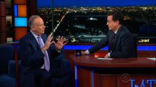 Stephen Colbert and Bill O'Reilly Go Head-to-Head Over Politics