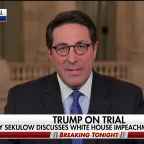 Trump impeachment attorney Jay Sekulow discusses the White House's defense