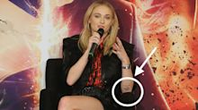 Sophie Turner's Old 'Game Of Thrones' Tattoo Was Actually A Major Spoiler