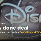 It's official: Disney is acquiring Fox's film and TV divisions for $52.4 billion