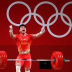 Olympics-Weightlifting-China's Chen and Li win gold