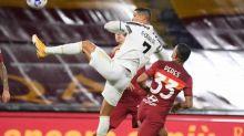 Foot - ITA - Serie A: un doublé de Cristiano Ronaldo permet à la Juve de glaner un point contre l'ASRome