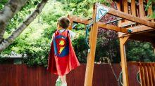 Du hast Platz im Garten? Bau deinen Kids einen eigenen Spielplatz!