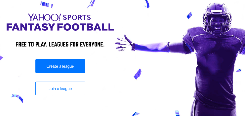 Now's the time to sign up for Fantasy Football!