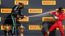 Hamilton rischia ma vince ancora. Leclerc terzo