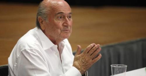 Foot - CM 2018 - Vladimir Poutine invite Sepp Blatter à assister au Mondial 2018