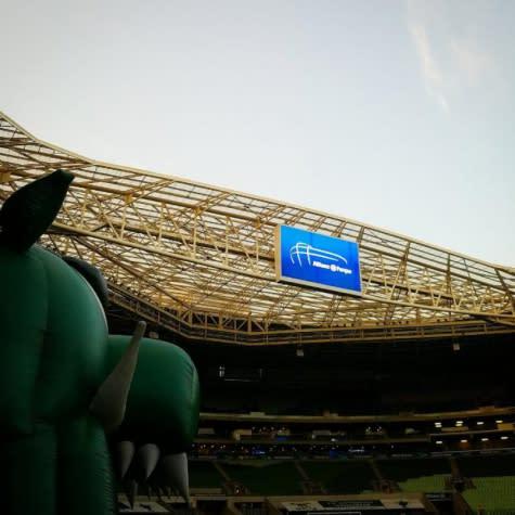 Presidente do Palmeiras confirma jogo das quartas no Pacaembu