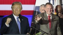 Trump gets sacked in Alabama