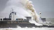 Aiden, Minnie and Oscar among names of storms expected to batter UK this winter
