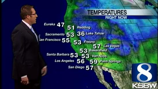 Get your Monday KSBW Weather Forecast