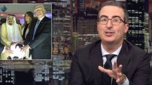 John Oliver Taunts Trump Over His 'Intense Bromance' With Saudi Crown Prince