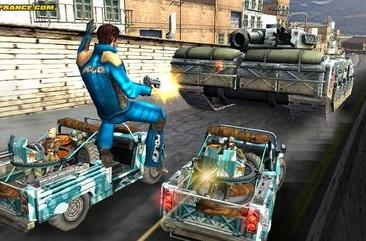 Apprehend these new Pursuit Force 2 screens