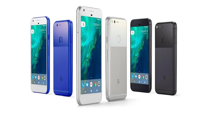 The Pixel XL vs. the competition: The bigger flagships face off