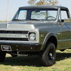 Restored 1972 Chevrolet C10 Pickup Looks Quite Tactical