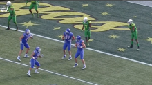Boise State scores TD after all four receivers spin around simultaneously