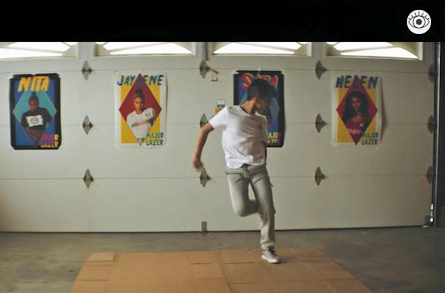Jump between a dream and reality in Major Lazer's new music video