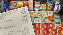 How savvy Coles shopper scored 176 items for under $75