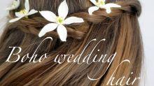 Boho wedding hair: 3 natural styles for brides, bridesmaids and guests