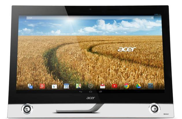 Acer's latest all-in-one doubles as a 27-inch touch monitor and Android PC