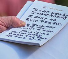 Trump's memo to self on Sondland testimony: 'I want nothing'