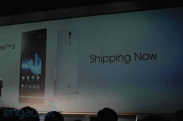 Sony Xperia S now shipping globally, Ion to join the world tour come summer