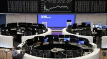 European shares rebound on strong earnings, takeover speculation boosts Hugo Boss