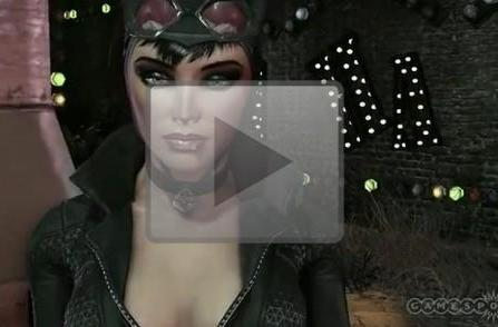 Playable Catwoman unmasked in Batman: Arkham City