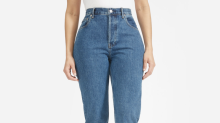 Everlane's 'butt-boosting' Cheeky Jeans are finally back in stock
