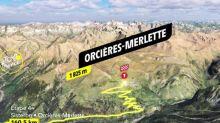 Tour de France - Tour de France 2020: le profil de la 4e étape en vidéo (Sisteron - Orcières-Merlette, 157km)