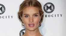 Rosie Huntington-Whiteley Looks Angelic at Her Baby Shower
